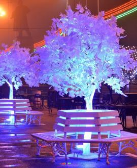 Афиша праздничных мероприятий в новогоднюю ночь